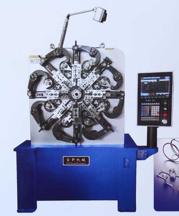 台升-SHZTM-45CNC 电脑万能弹簧机