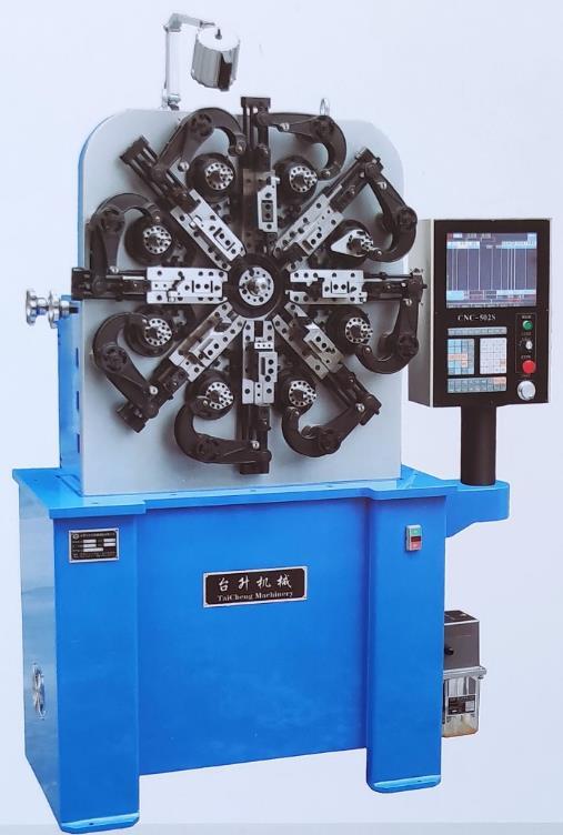 台升-SHZTM-620CNC电脑万能弹簧机